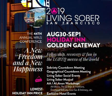 2019 Living Sober Conference