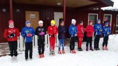 Premieutdeling jenter 11år. 2.plass Guro, 6.plass Andrine, 9.plass Kine og 10.plass Ine sofie. Bra innsats jenter.