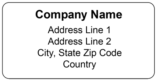 Superior Shipping Label Template