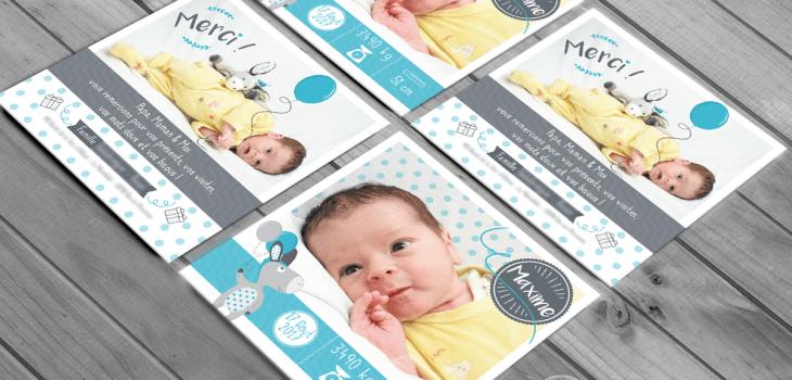 aaska faire part naissance famille bébé carte