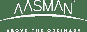 Aasman logo tagline reversed