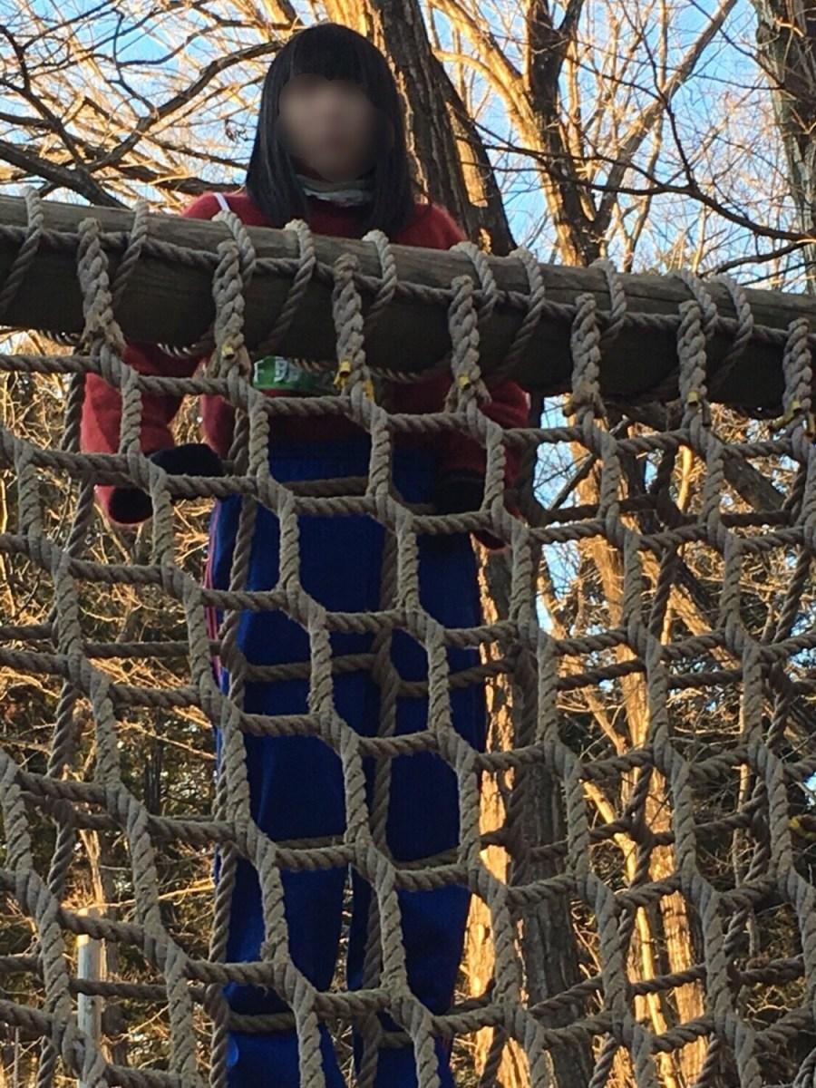 栃木県真岡市にある井頭公園のアスレチックに挑戦してきたよ。