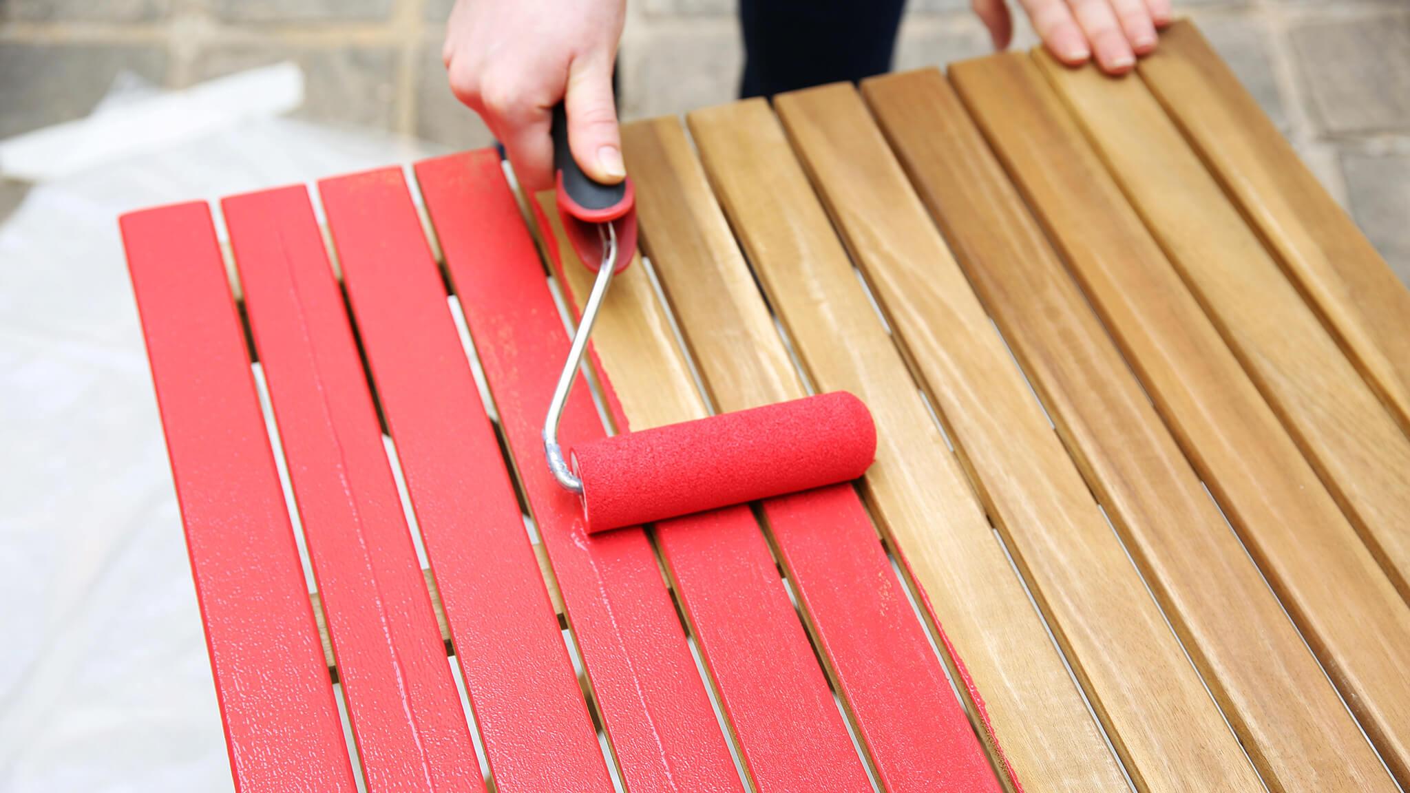 comment peindre son mobilier de jardin