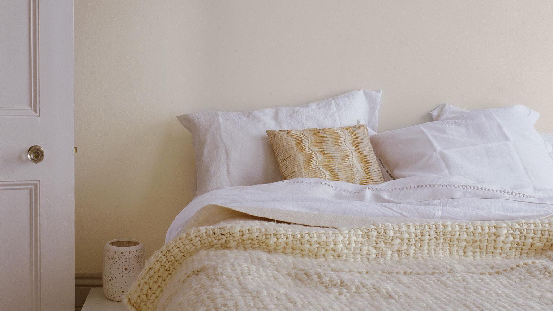 peinture ivoire pour une chambre cosy