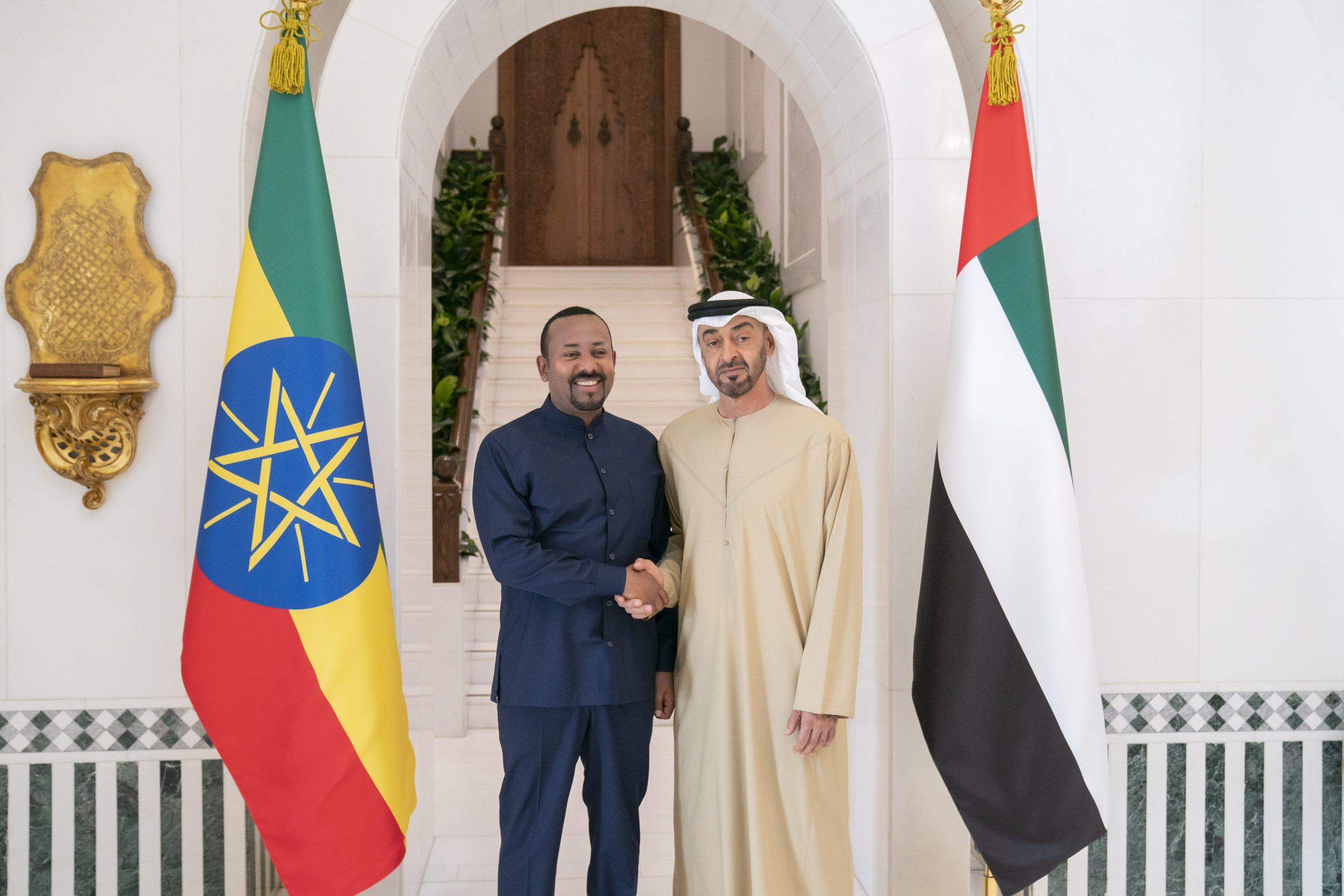 محمد بن زايد و وابي احمد يبحثان المستجدات اقليميا ودوليا
