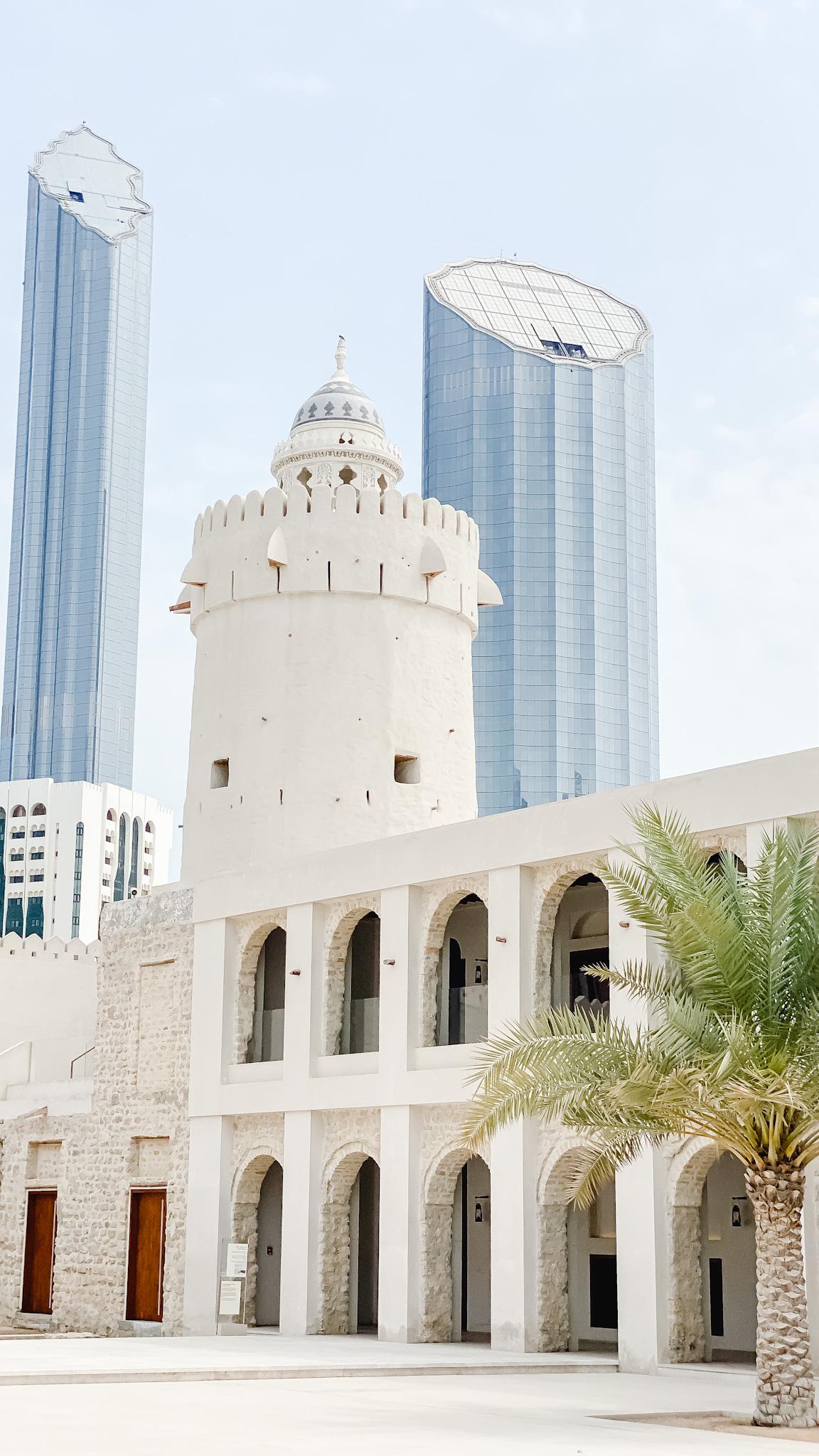 قصر الحصن في العاصمة ابوظبي - ١٣-٨-٢٠٢٠