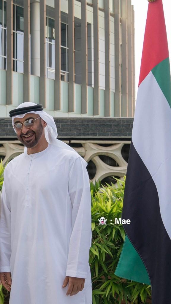 محمد بن زايد قدوة