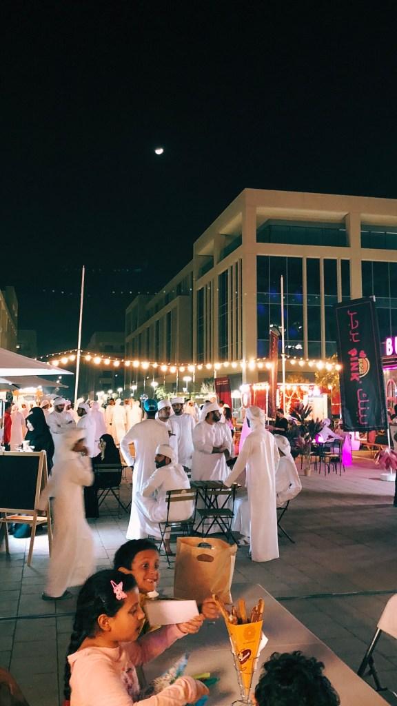 مهرجان العين سكوير في استاد هزاع بن زايد