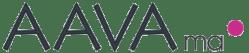 Aavama-logo, yhteystiedot