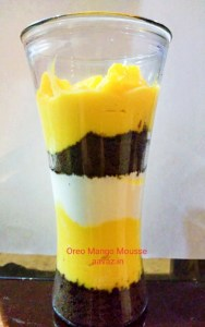 how to make Mango Mousse at home in hindi