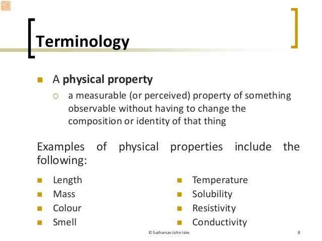 Physical properties - AAVOS International
