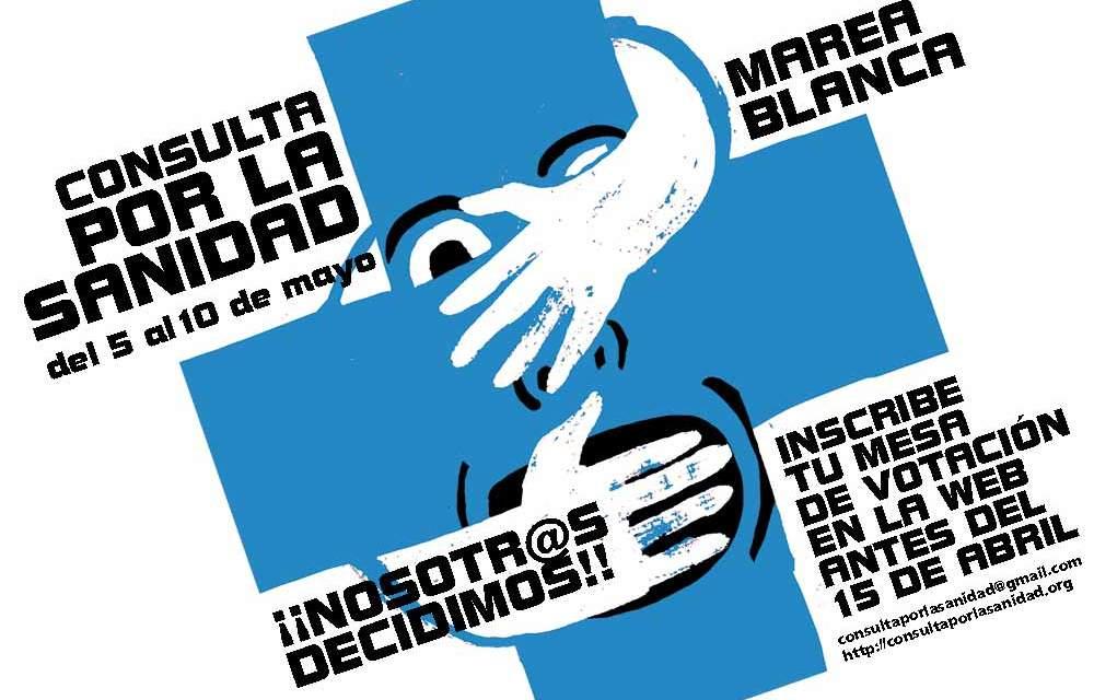 Del 5 al 10 de mayo: consulta ciudadana sobre la sanidad pública