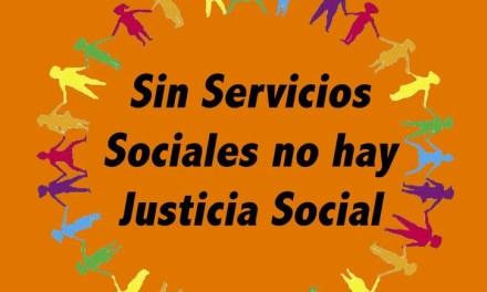 En la Semana de la justicia social, marchemos contra los recortes en Servicios Sociales