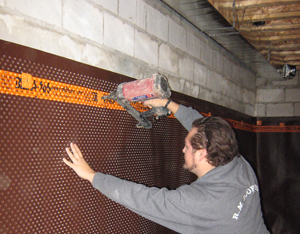 Interior Basement Waterproofing Basement Waterproofing