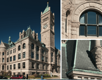 Lowell City Hall Combo Graphic