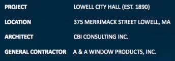 Lowell City Hall Label