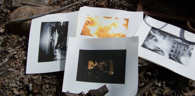 Annie Ling's burned photographs