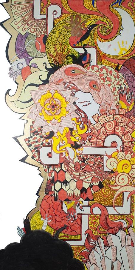 Wall Mural, Kunsang's Studio