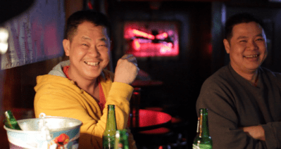 Yap Yoon Choy said he enjoys the friendly atmosphere in the bar.