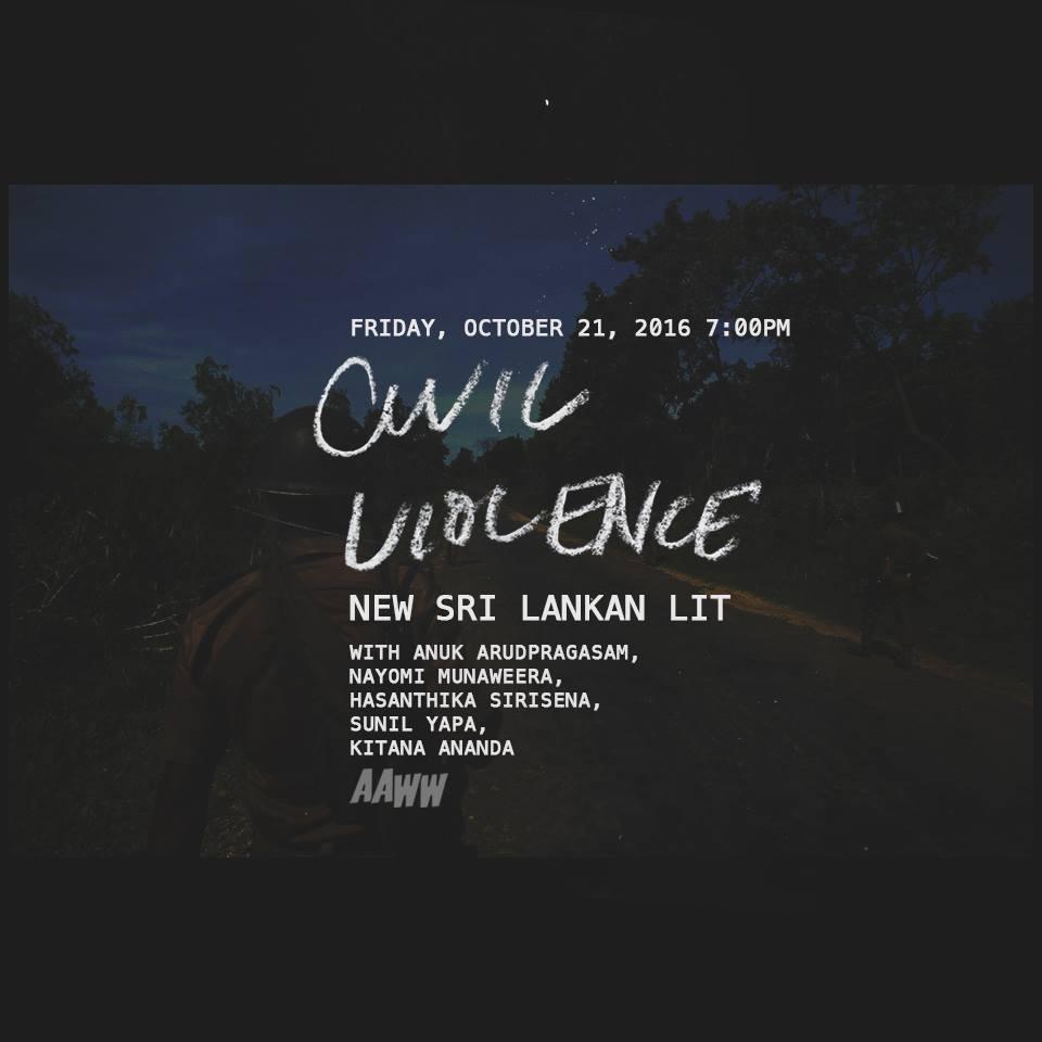 Civil Violence: New Sri Lankan Lit