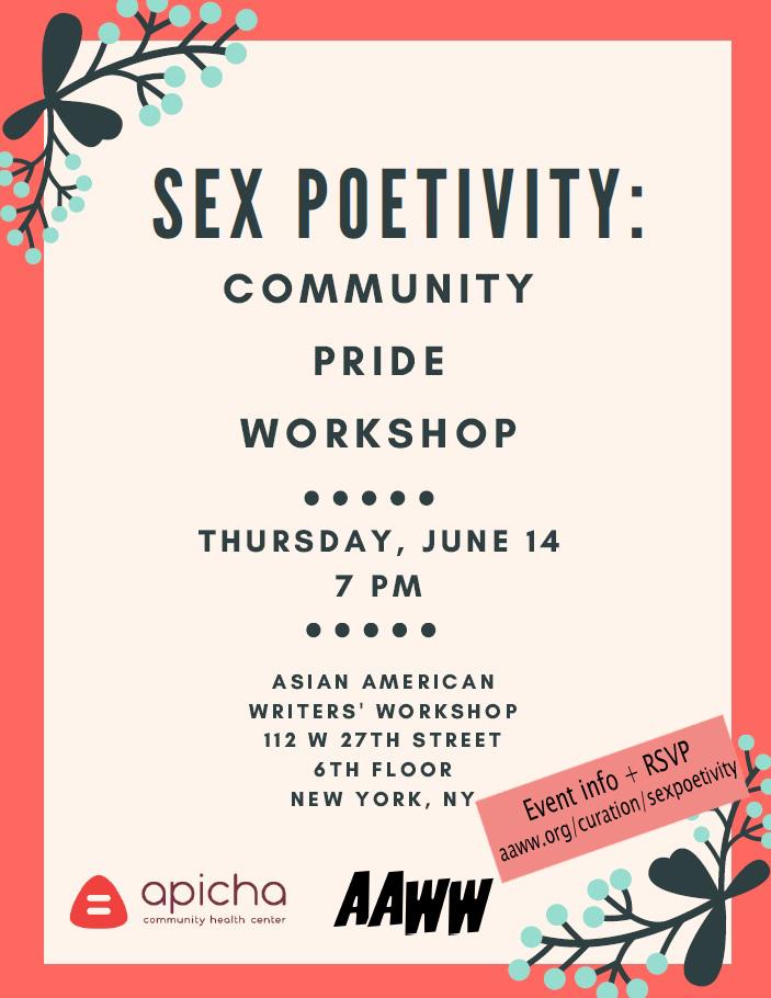 Sexpoetivity: Community PRIDE Workshop