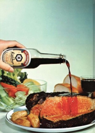 Photograph from a 1973 Kikkoman cookbook (Shurtleff and Aoyagi, p. 214)