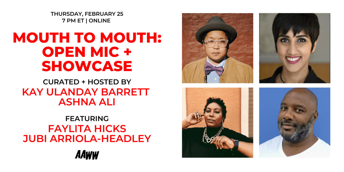 aaww.org: Mouth to Mouth: Open Mic + Showcase