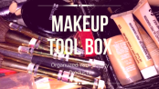 Personal Makeup Tool Box and Organizer