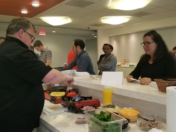 Corporate In-House Omelet Social
