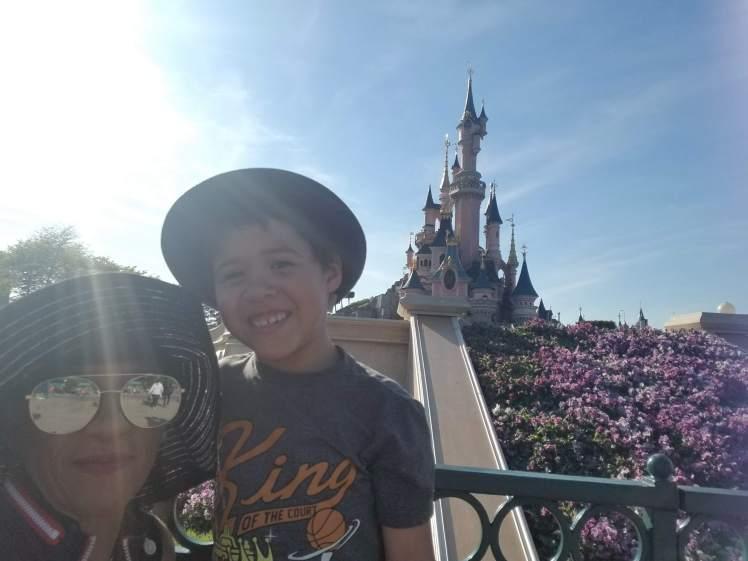 Disneyland Paris with my son May 2019