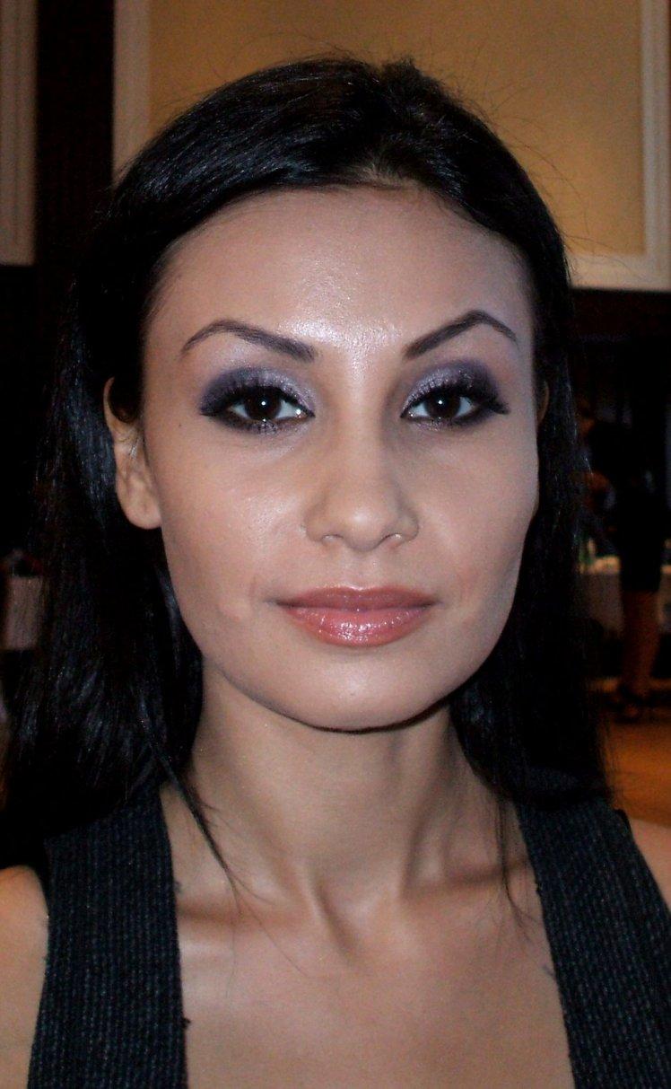 My makeup work at International Fashion Show