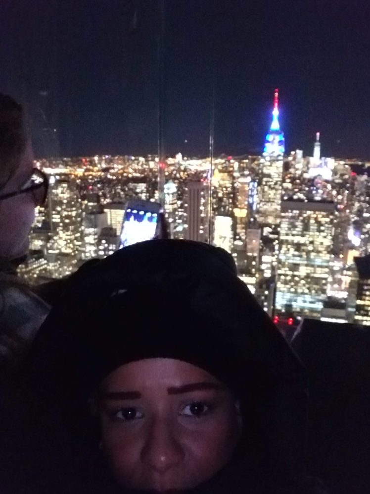 Top of the Rock - Rockefeller Center Christmas 2018