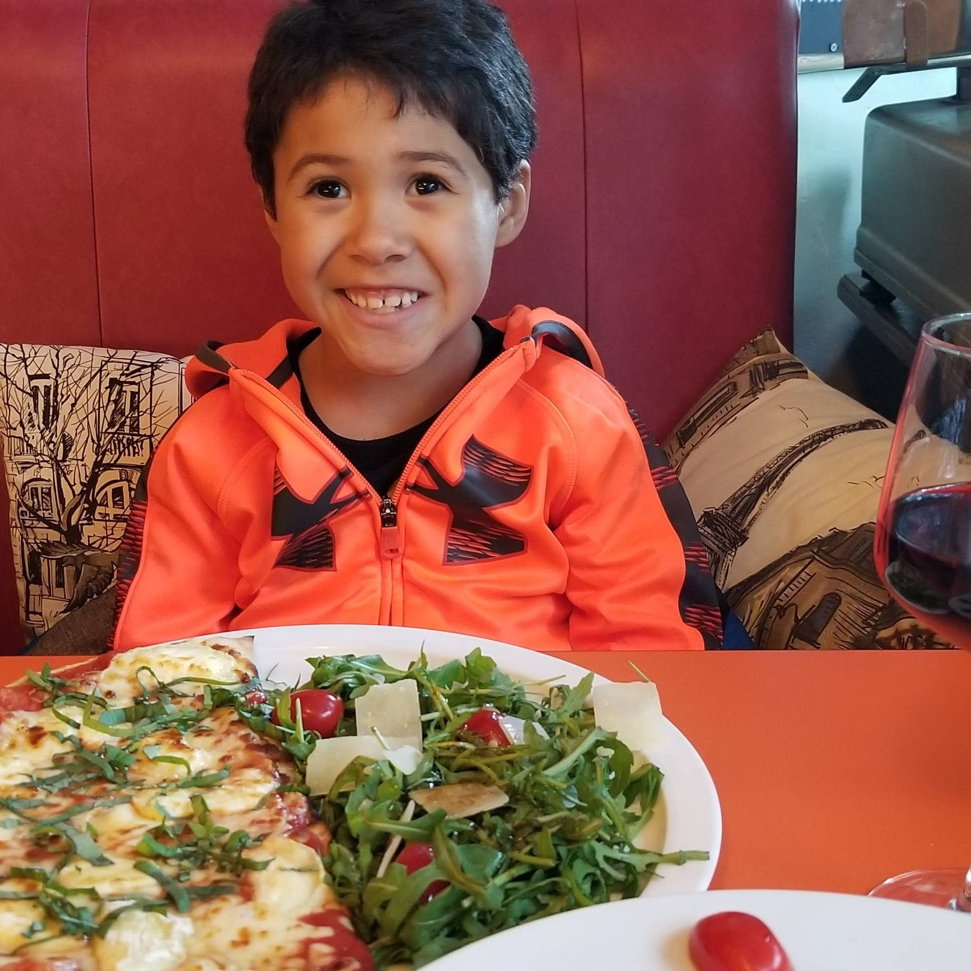 My son, Babalou Pizzeria May 2019