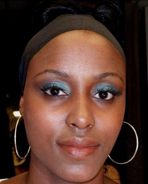 My makeup work at Corjor International Fashion Show