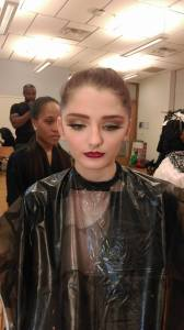 My makeup work at DC Fashion Week 2016