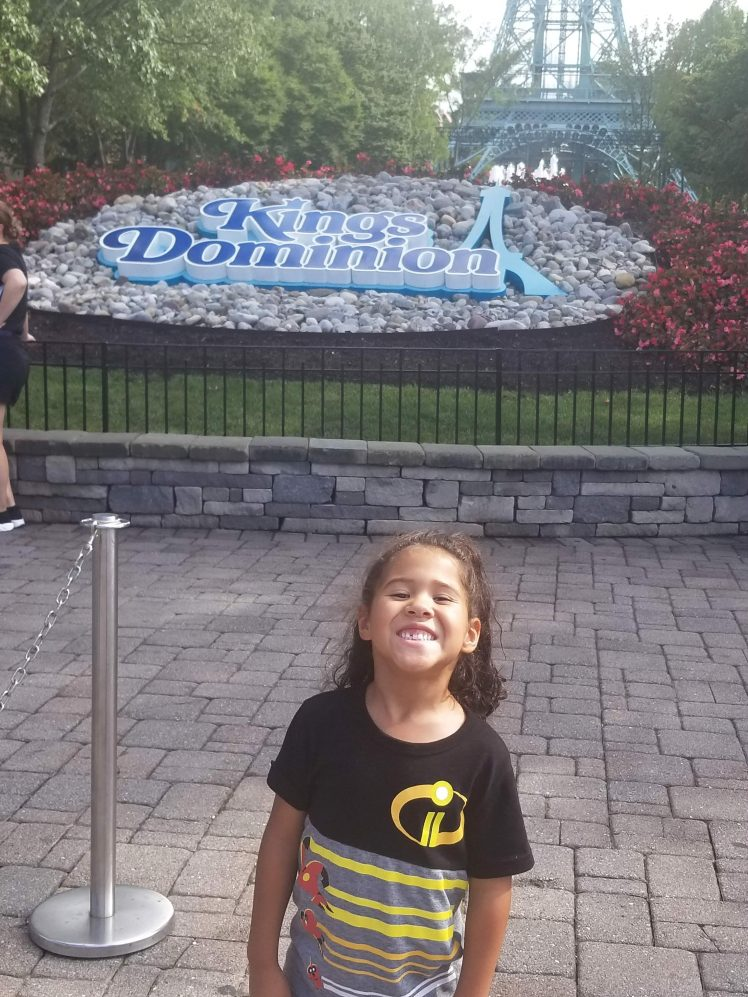 King Dominion for 6th Birthday