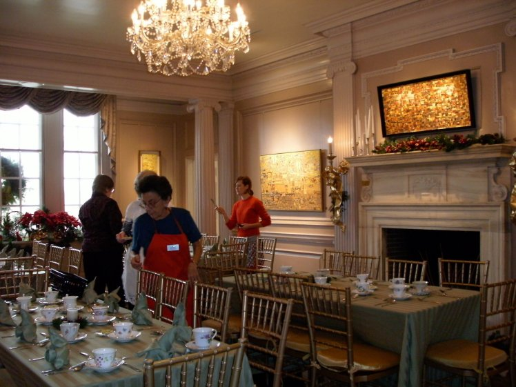 Strathmore Mansion, Afternoon Tea, Bethesda MD 2016