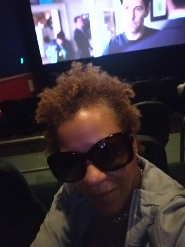 Photo of me at the movies 2020