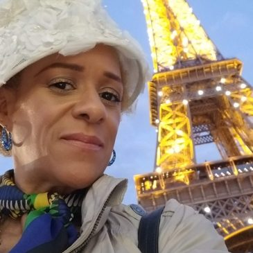 Me in front of the Eiffel Tower Paris May 2019