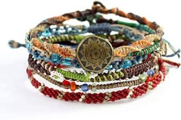 Wakami Earth Charm Bracelet