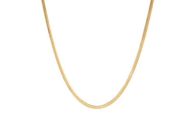 Lola Ade 18K Herringbone Chain