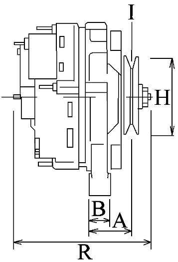 Lichtmaschine VW marine 1.9 tdi 12V – AB marine service