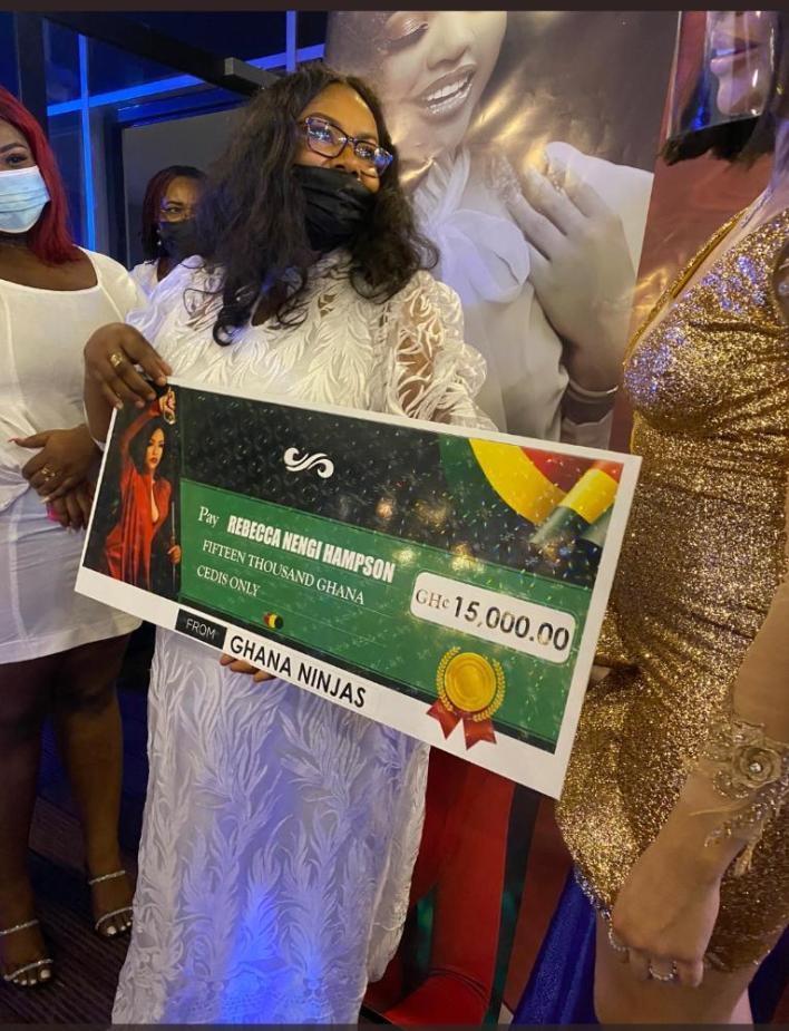 Ghana Ninjas gifts Nengi 15,000 Cedis (N1 Million) to express their Love for her