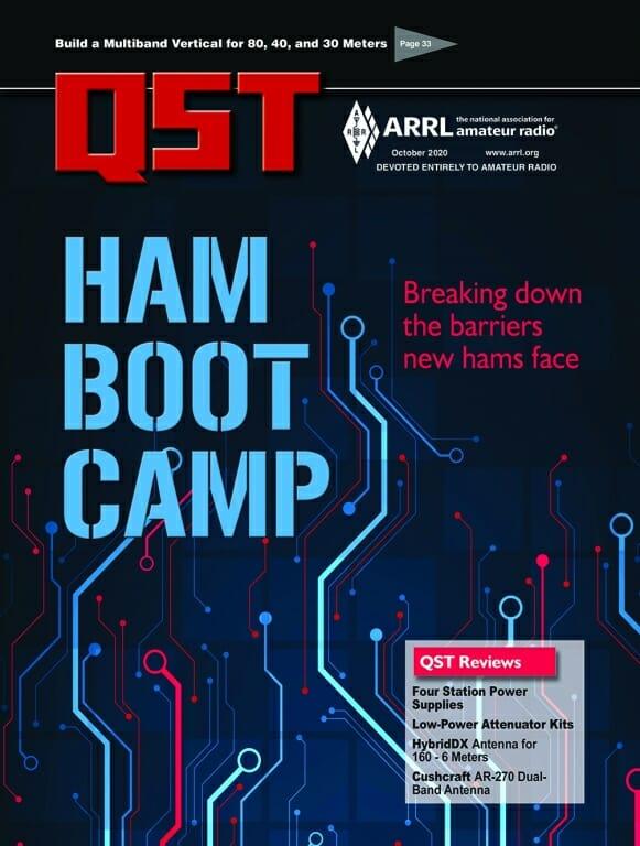Ham Bootcamp program Featured in October 2020 QST