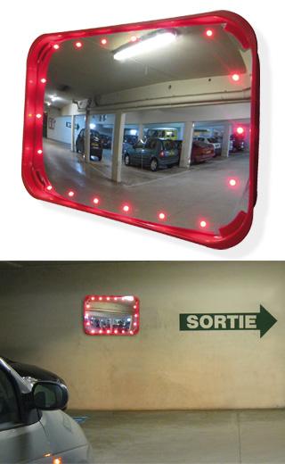 Miroir à LED