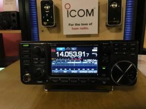 Icom IC-7300 At 2016 Orlando Hamcation