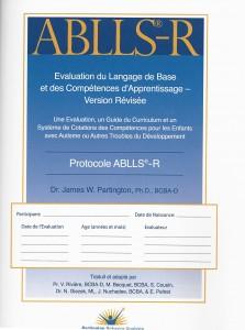 148 - ABLLS-R - Protocole Français