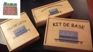 224-Makaton jeu loto jeu familles kit de base