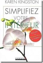 Couverture livre Karen Kingston _ Simplifiez votre intérieur