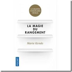 Couverture _ La magie du rangement _ Marie Kondo